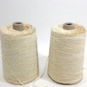 2 Yarn Cones Chenille Weaving Knitting Cra…